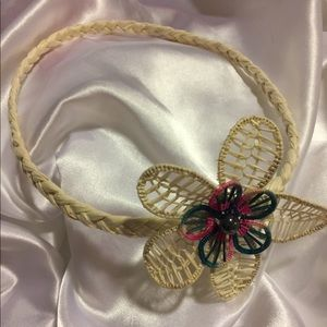 Handmade Native Marshall Islands Flower Headband